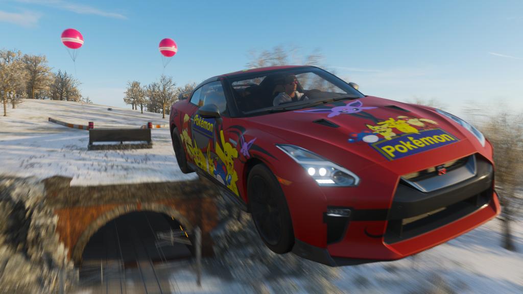 Forza Horizon 4 Pokemon Nissan GT-R