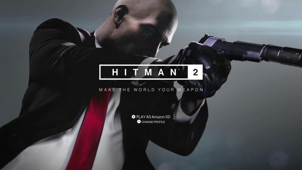 HITMAN 2 Title Screen