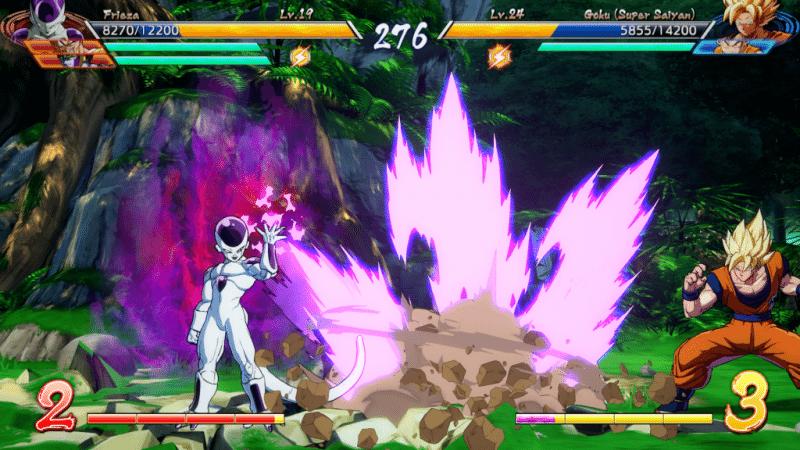 Dragon Ball FighterZ Frieza vs Goku