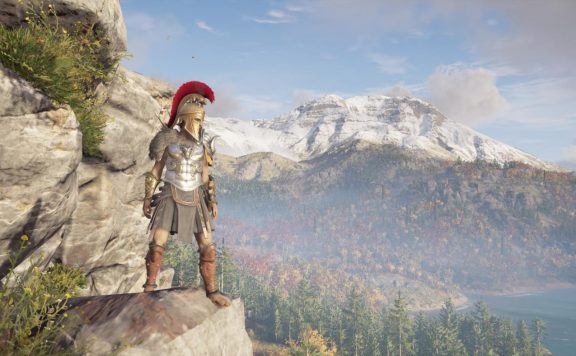 Assassin's Creed Odyssey Cliffside View