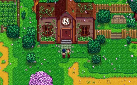 Stardew Valley Pelican Town Clock Building