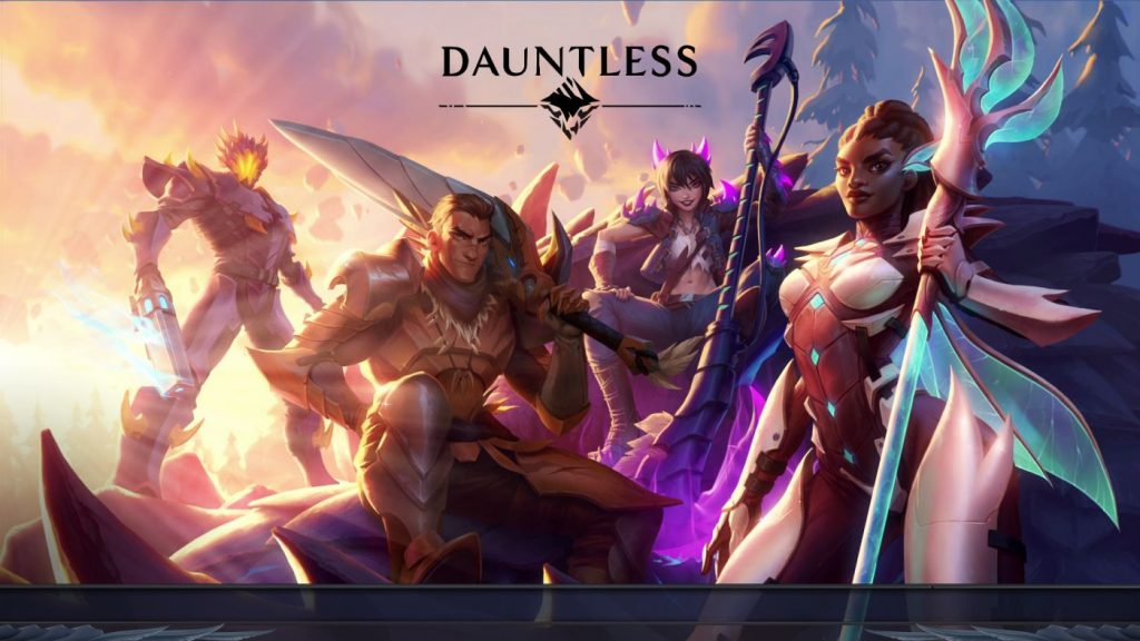 Dauntless Title Screen