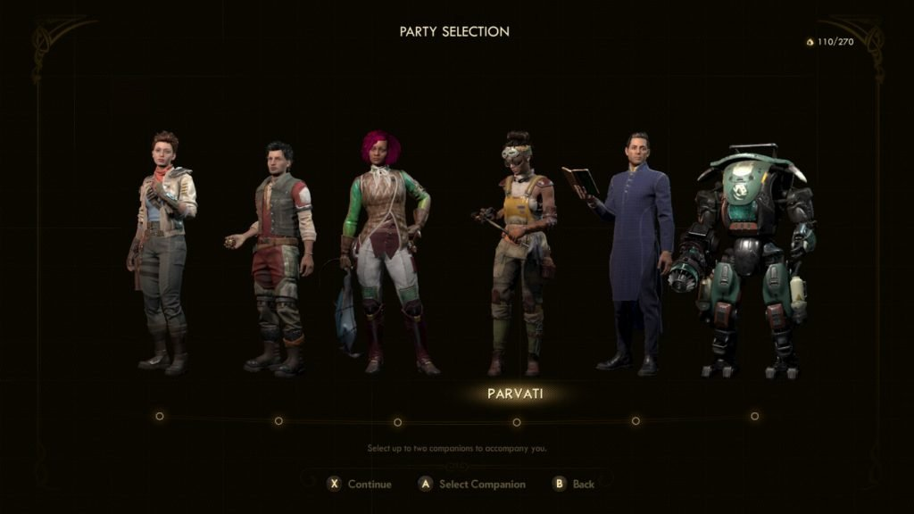 All Companions in Outer Worlds