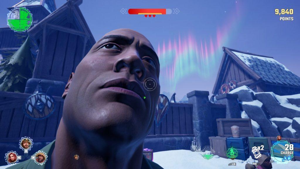 The Rock in Jumanji The Video Game