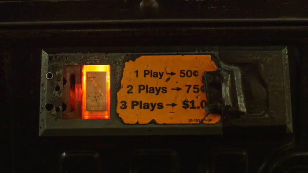 Rusty Arcade Coin Slot