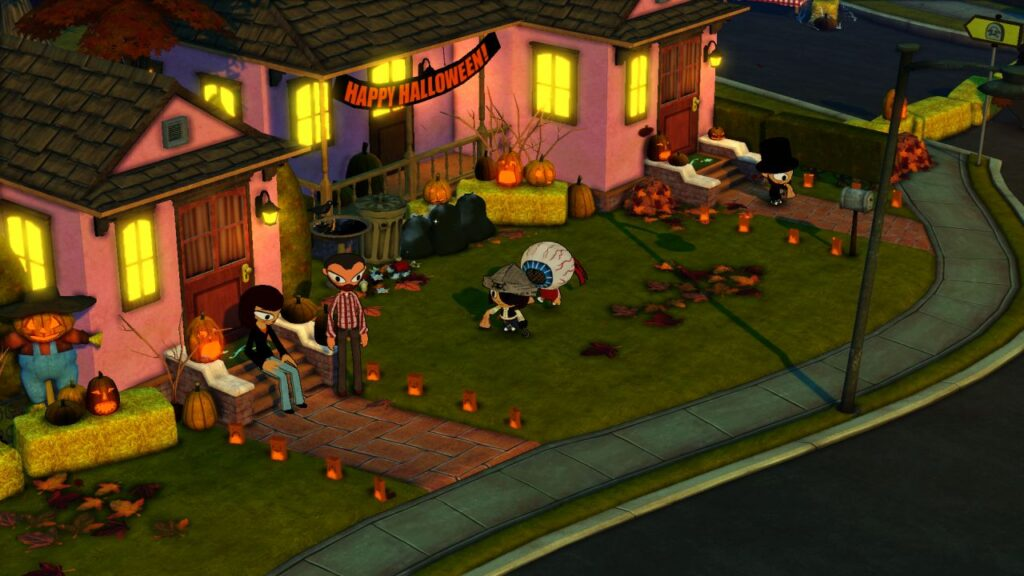 Costume Quest 2 Halloween Night