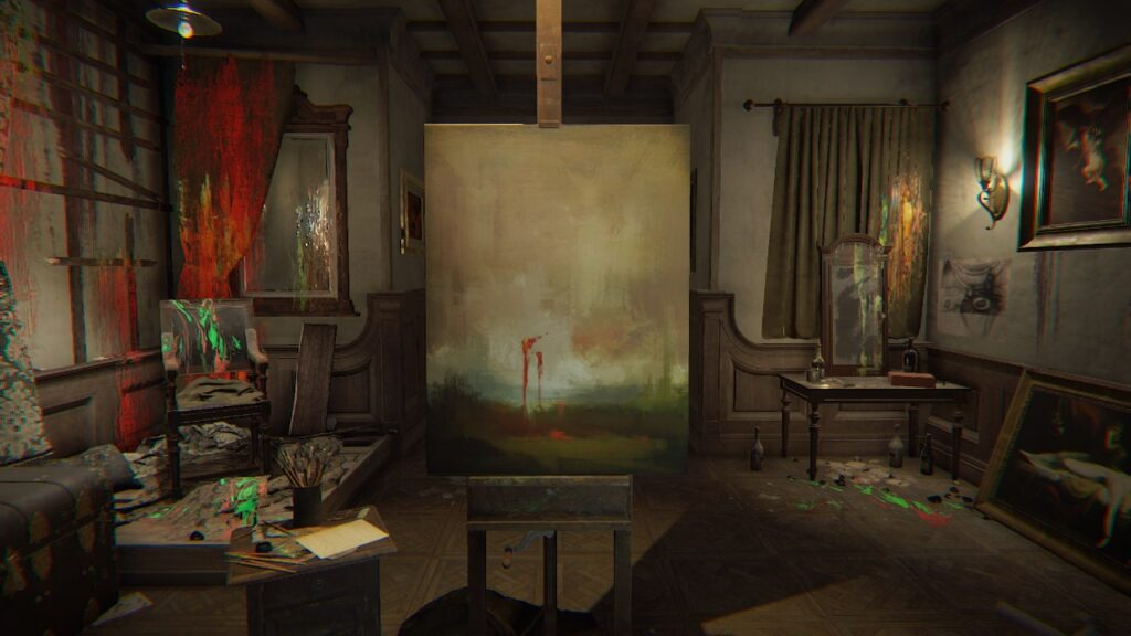 Layers of Fear Painting