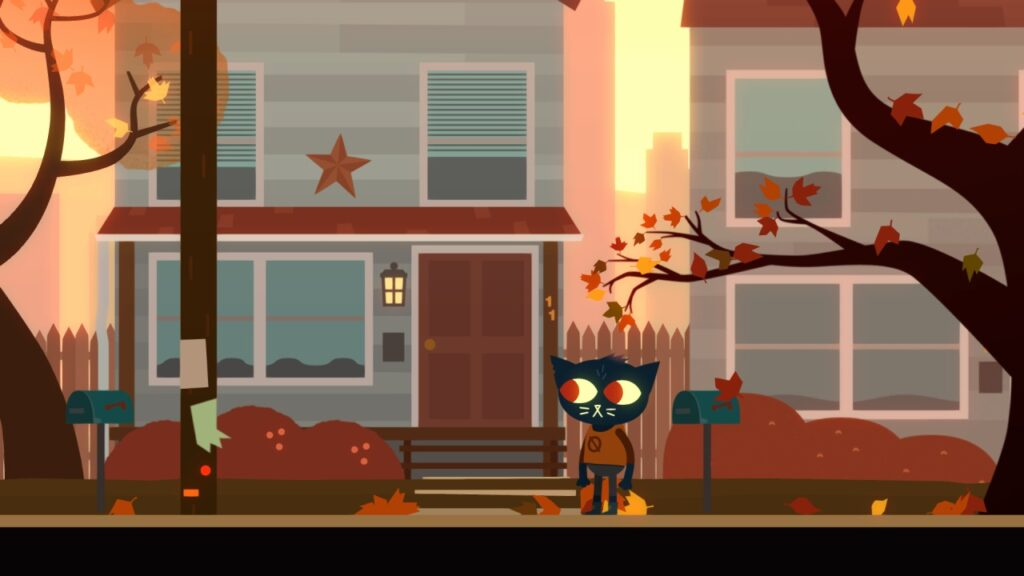 Night in the Woods Home