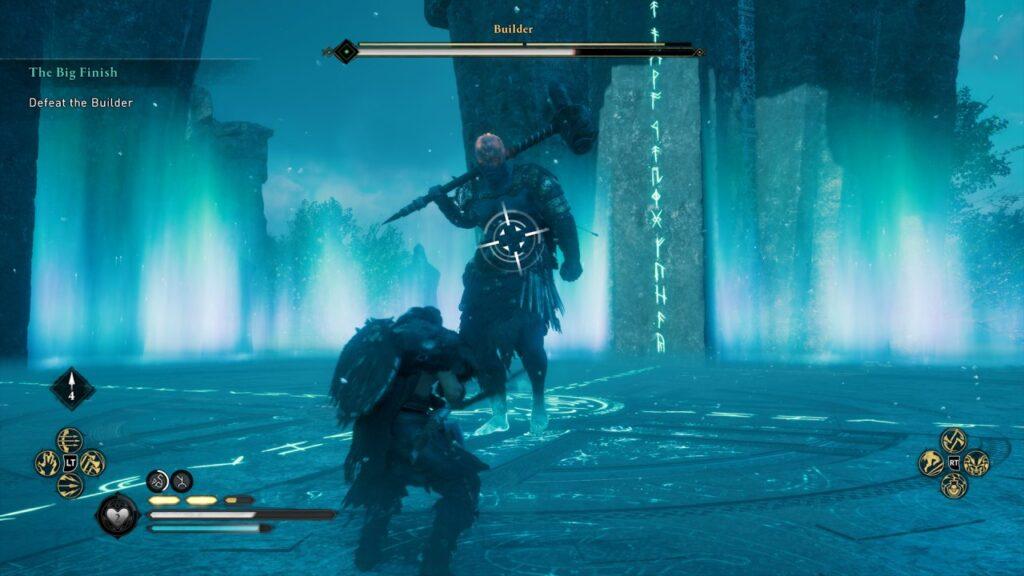 The Builder Boss Fight Assassin's Creed Valhalla