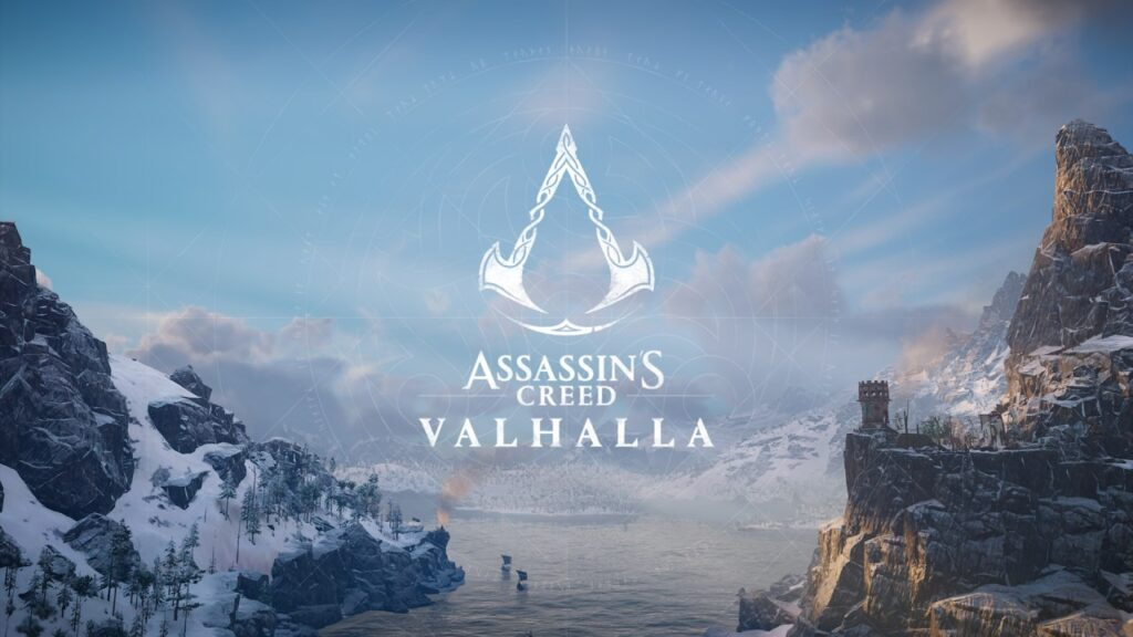 Assassin's Creed Valhalla Title Screen