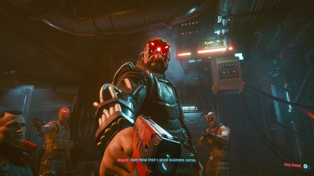 Royce from Cyberpunk 2077