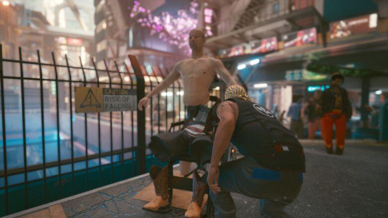 Cyberpunk 2077 Wheelchair Glitch