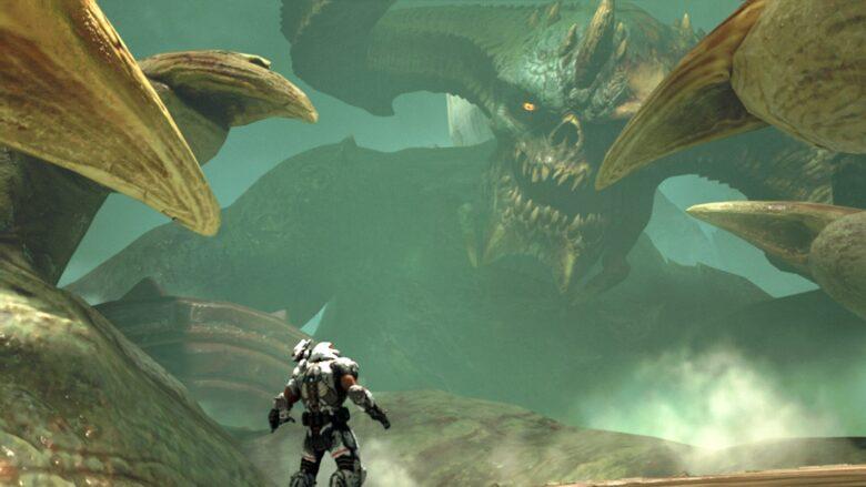 Giant Monster in DOOM Eternal