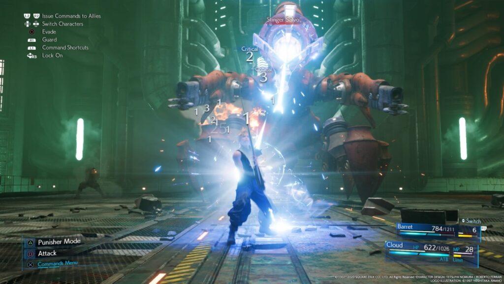 Final Fantasy VII Remake Boss