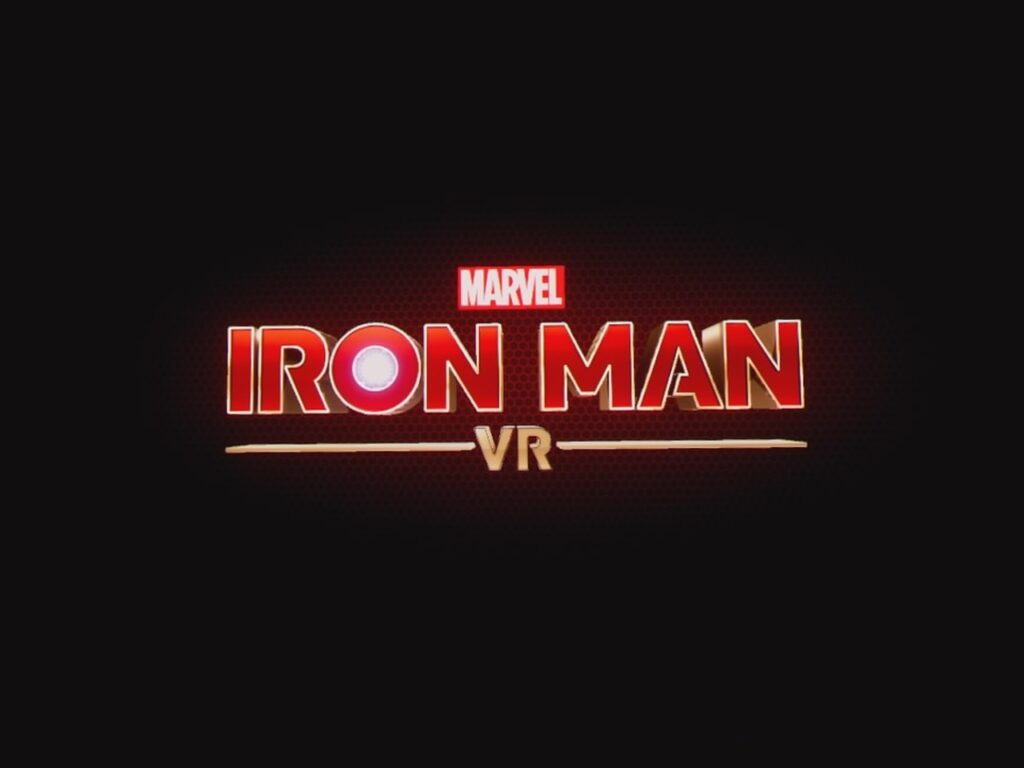Iron Man VR Title Screen