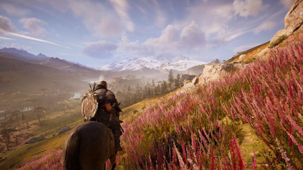 Assassin's Creed Valhalla Horseback