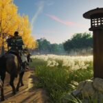 Ghost of Tsushima Horseback