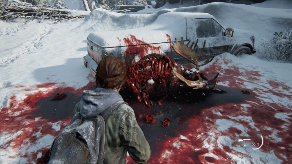 The Last of Us Part II Gored Moose