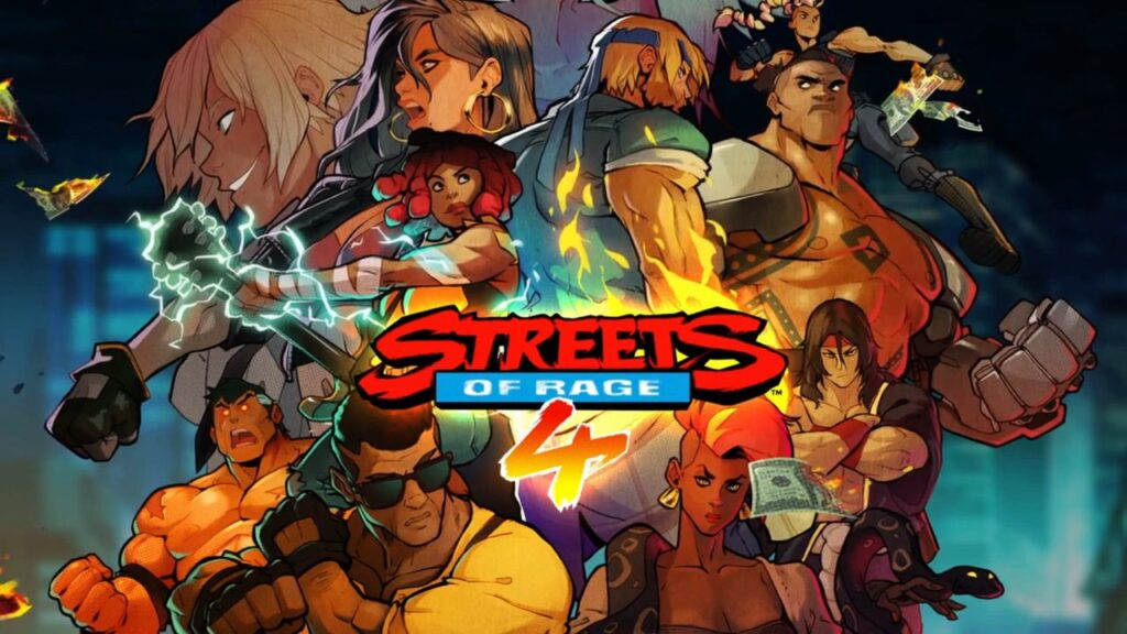 Streets of Rage 4 Title Screen