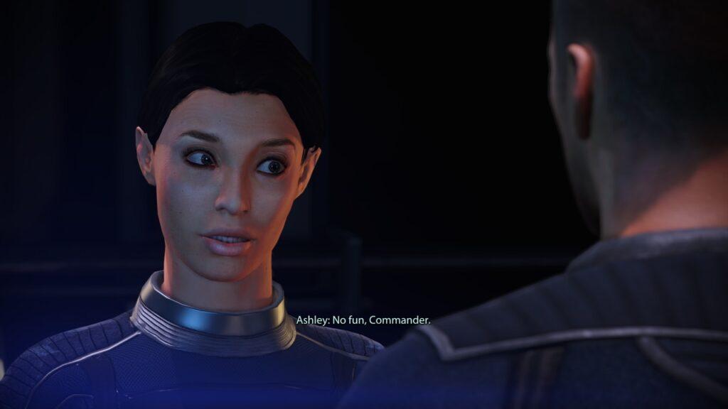 Ashley Williams Mass Effect Legendary Edition