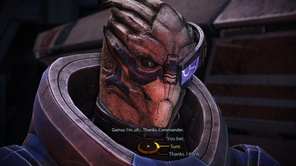 Garrus Vakarian Mass Effect Legendary Edition